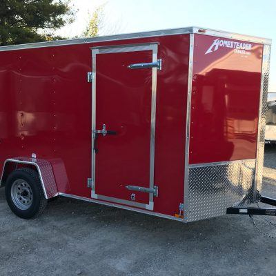Homesteader 6X12 Intrepid Enclosed
