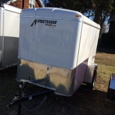 Homesteader 5X8 Enclosed Trailer