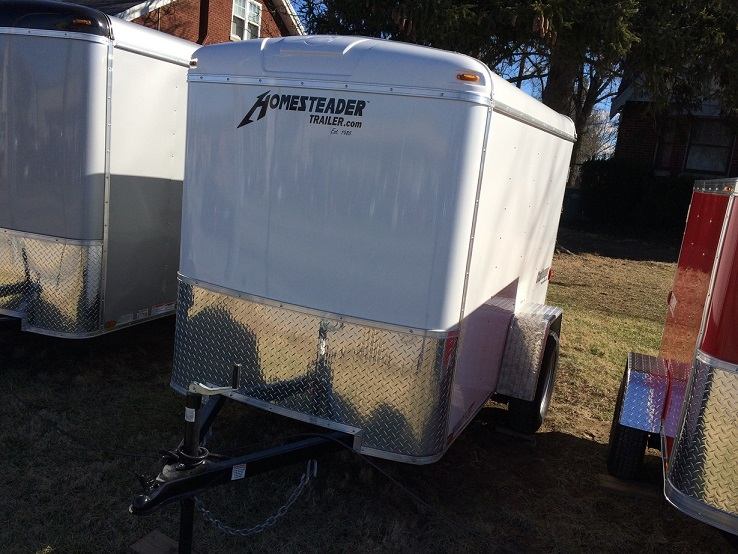 5X10CS enclosed trailer