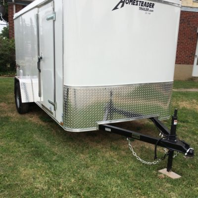 6X12 Challenger Enclosed trailer