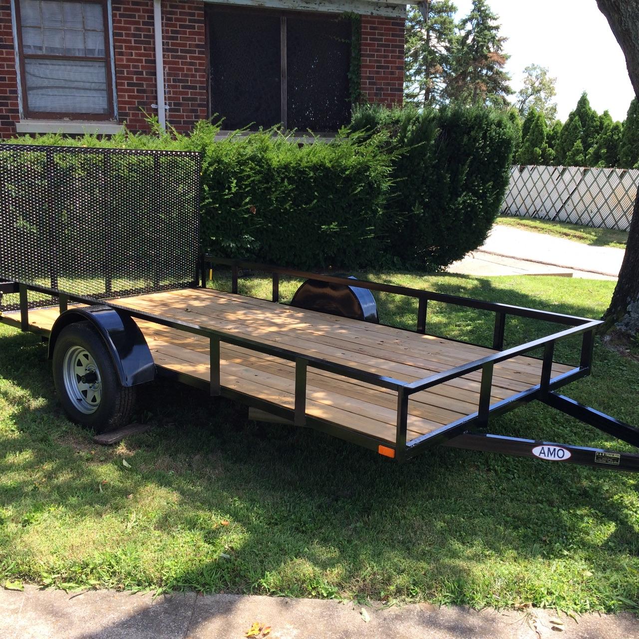 6x12 AMO Utility trailer