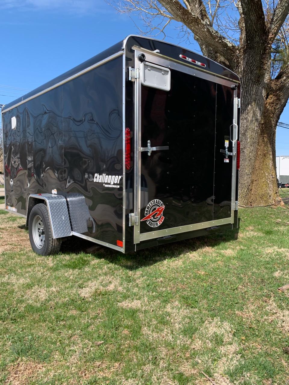 Homesteader 6X12 Challenger Enclosed Trailer