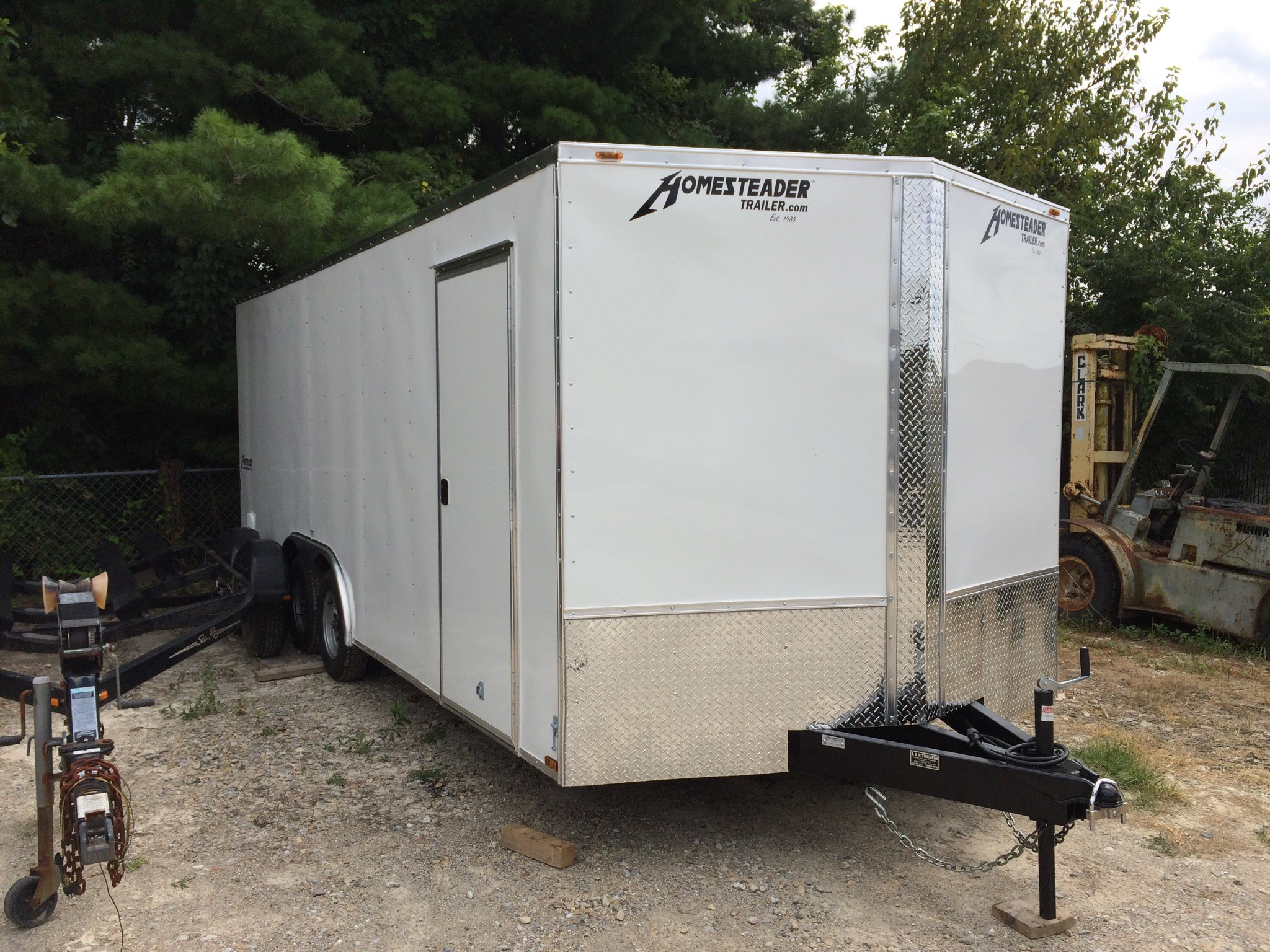 Homesteader 8.5X20 Intrepid Enclosed Trailer