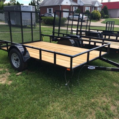 AMO 5X8 Utility Trailer wood floor