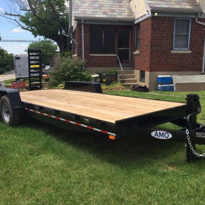 AMO 20' Equipment Trailer