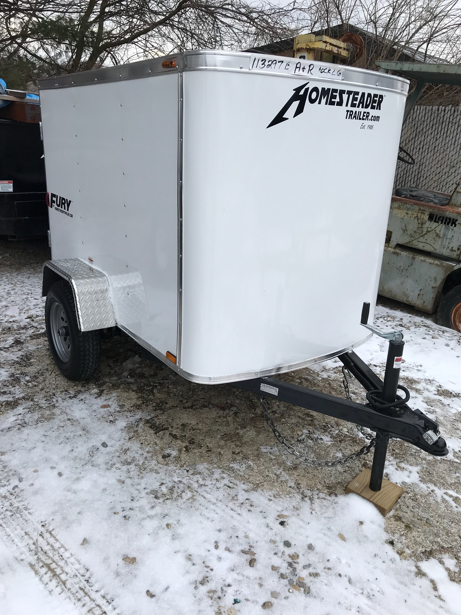 Homesteader 4X6 Enclosed Trailer