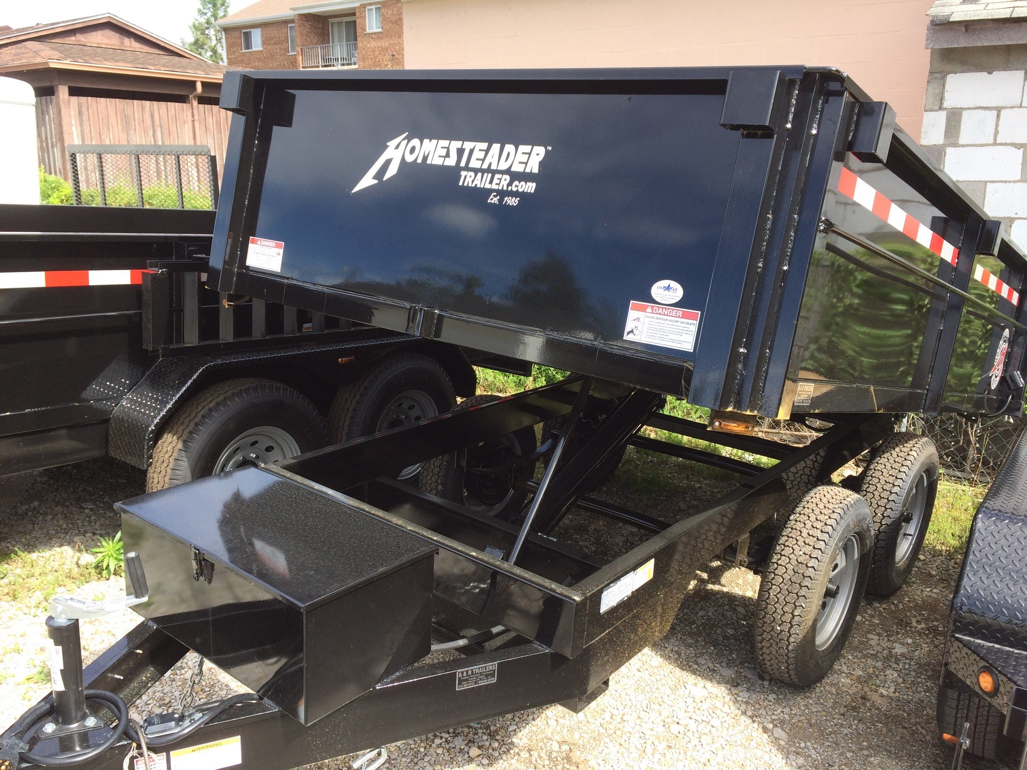 Homesteader 6X10LB Dump Trailer
