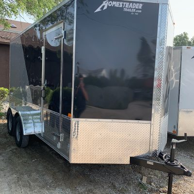 Homesteader 7X14 Intrepid enclosed trailer