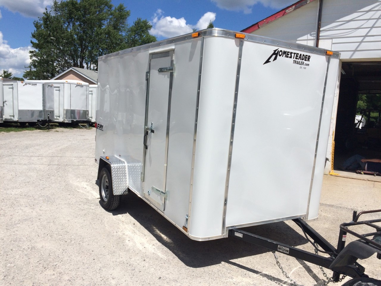 Homesteader 6X12 Fury Enclosed trailer