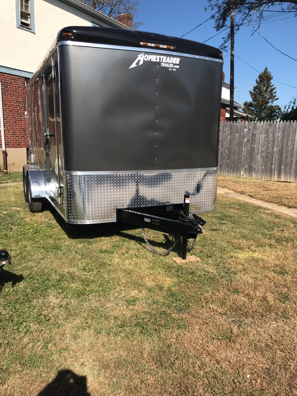 Homesteader 7X14 Challenger Enclosed trailer