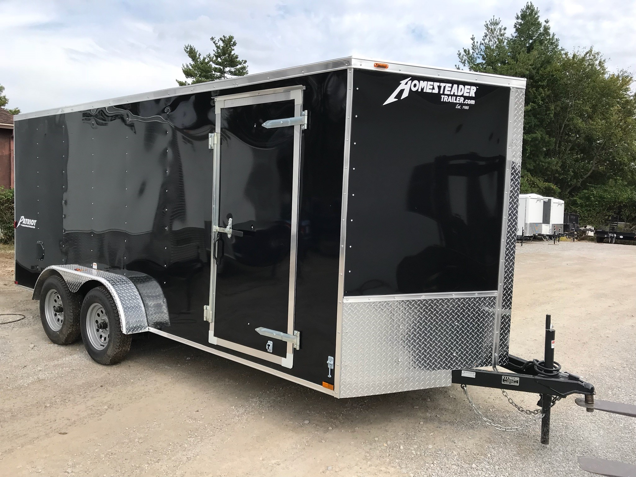 Homesteader 7X16 Intrepid enclosed trailer