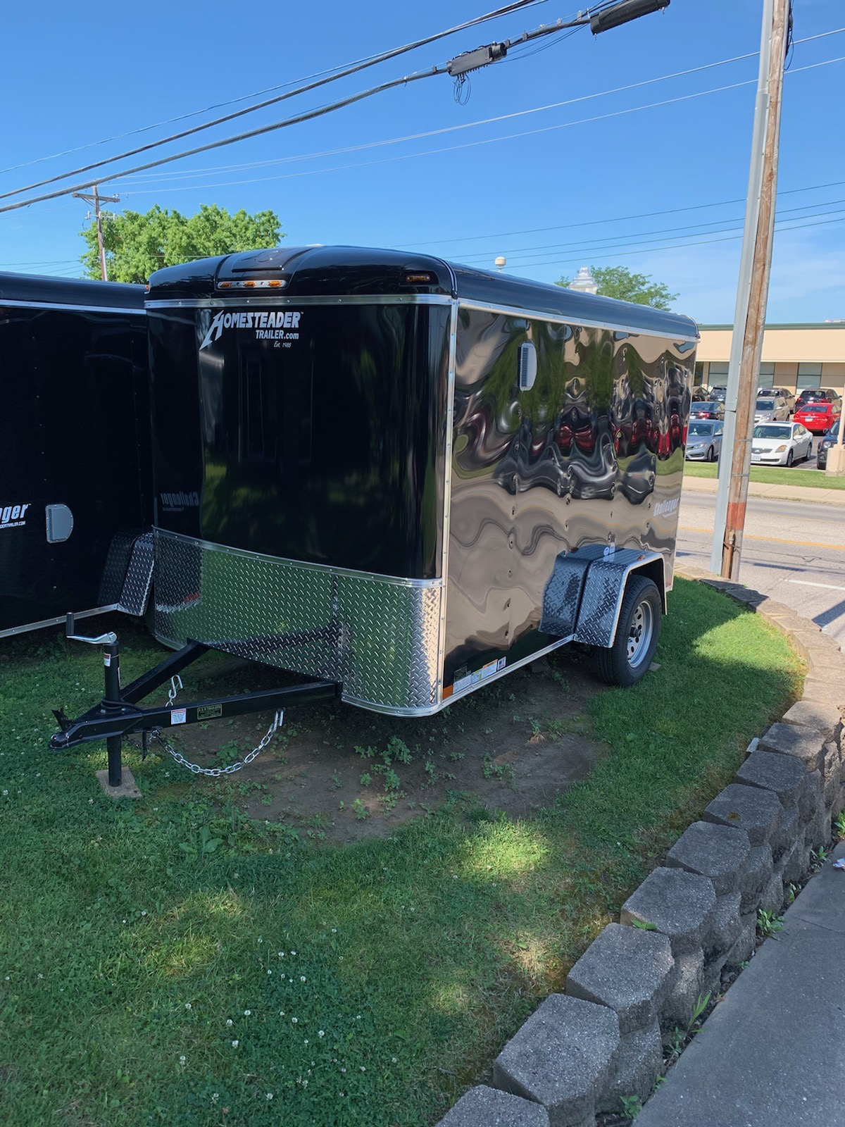 Homesteader 6X10 Challenger enclosed trailer