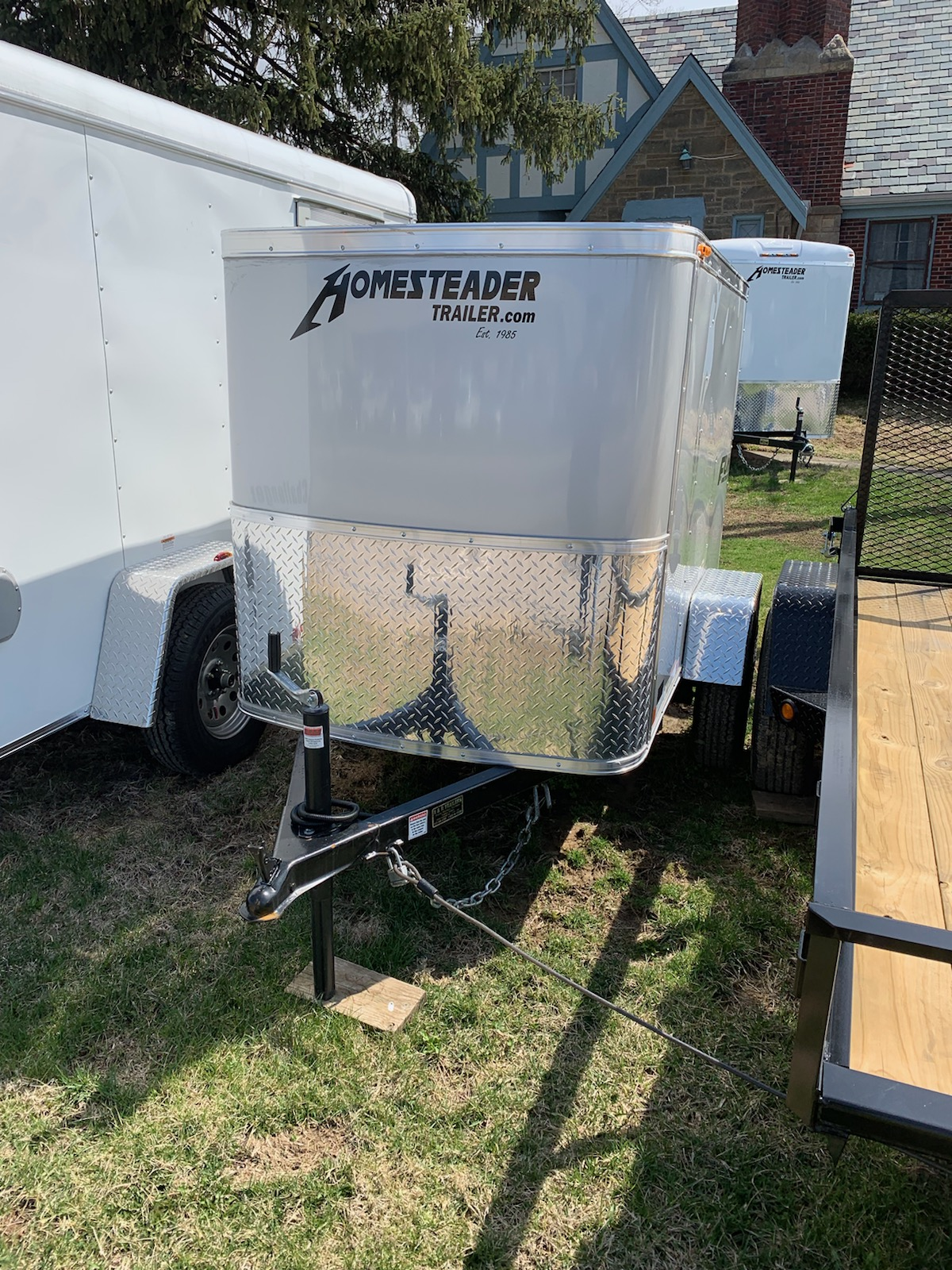 Homesteader 4X6 Fury Enclosed trailer