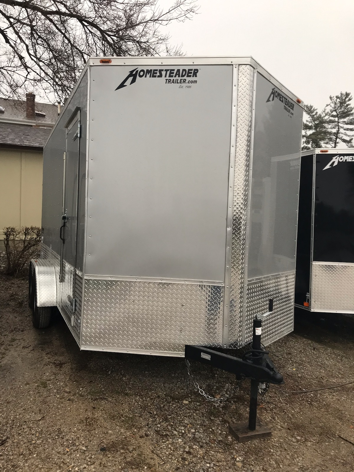 Homesteader 7X14 OHV Intrepid enclosed trailer