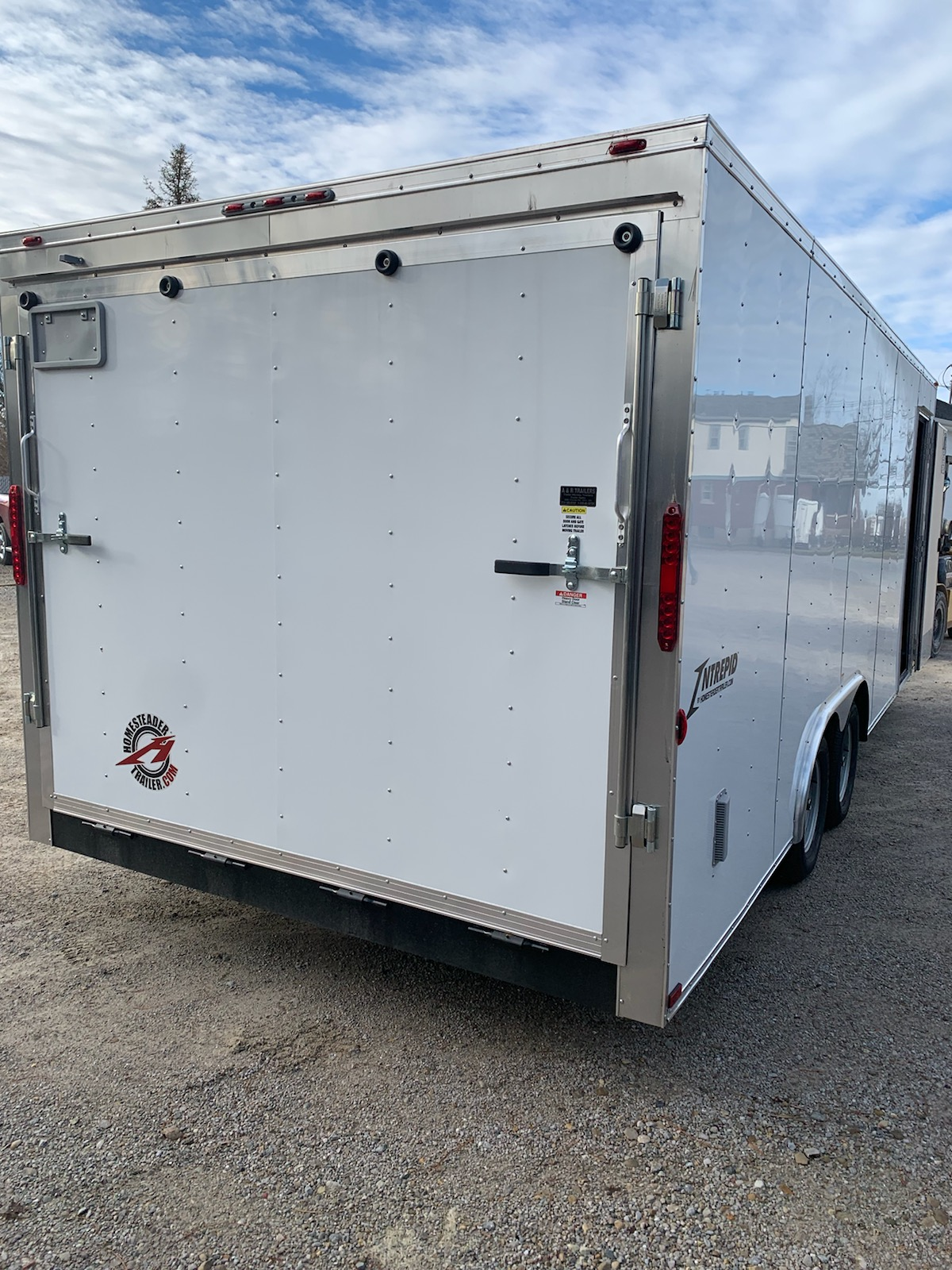 8.5X20 Intrepid Enclosed trailer