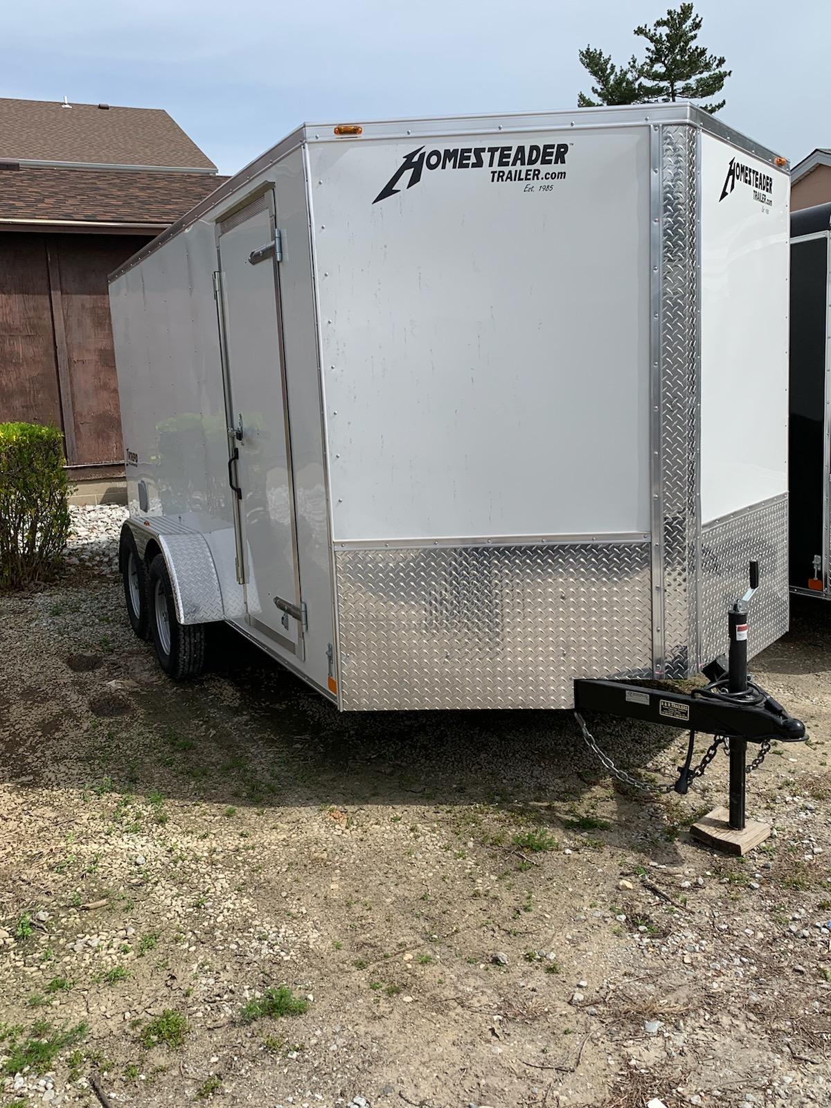 7X14 Intrepid enclosed trailer
