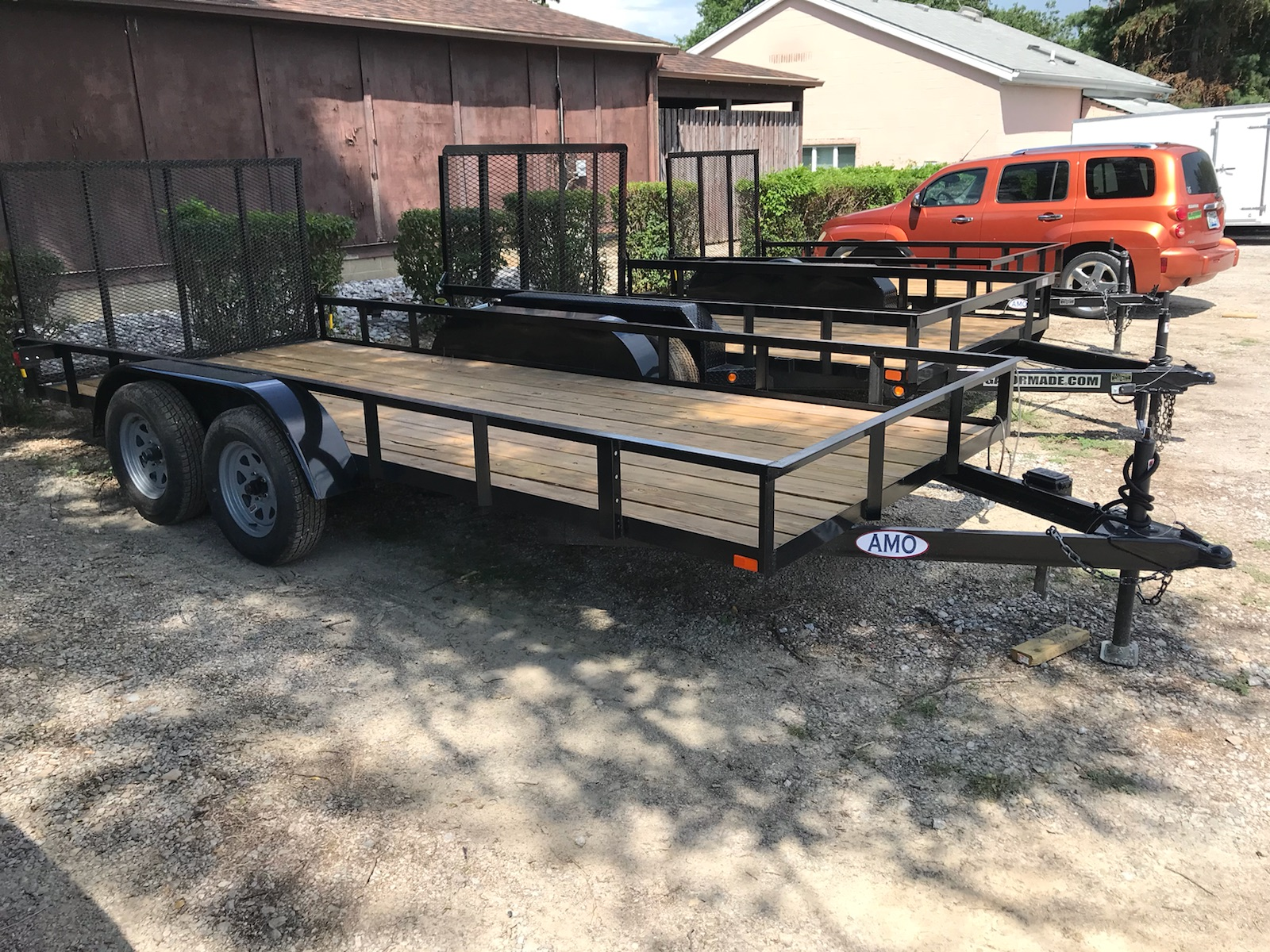 6'4X14' utility trailer