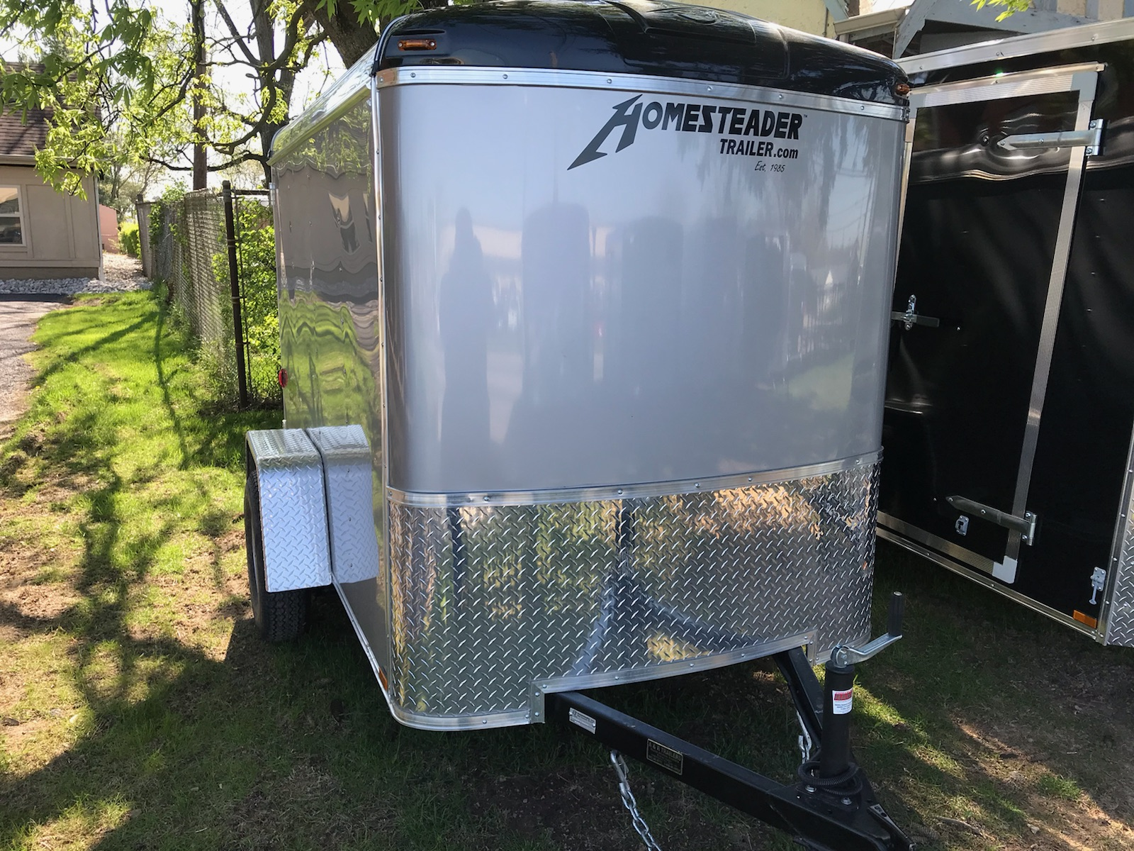 5X8CS Enclosed trailer